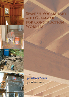 Spanish Lessons for Construction Workers on CD